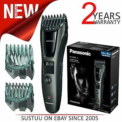 Panasonic ER-GB60K Mens Rechargeable Cordless Hair Beard Moustache Trimmer NEW