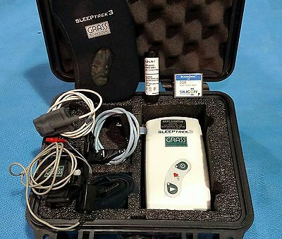 Grass Instruments Natus Sleeptrek 3 6 Channel Home Sleep Apnea Recorder ST-3RIP