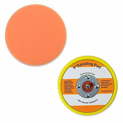 """5.5"""" Foam Polishing Pad with 5"""" Hook and Loop 5/16""""-24 Backup Pad - Porter Cable"""