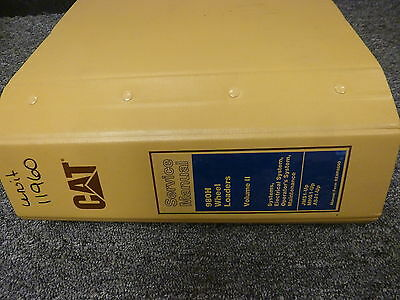 Caterpillar Cat 980H Wheel Bucket Loader Shop Service Repair Manual Vol II 2