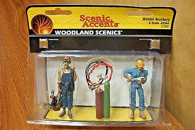 Woodland Scenics Welder Brothers  G Scale Figures
