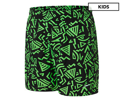 Speedo Boys' Palm Watershort - Green/Black