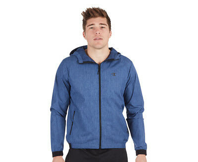 Champion Men's Woven Shell Jacket - Seabottom Blue Heather