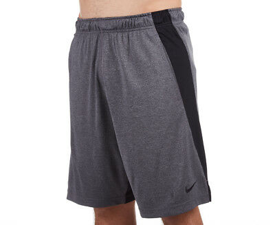 Nike Men's Dry Fly 9-Inch Short - Charcoal Heather/Black