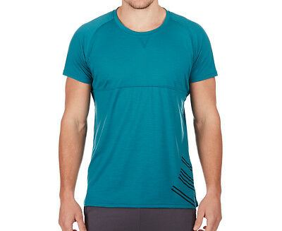 JAGGAD Men's Short Sleeve Tee - Harbour Blue