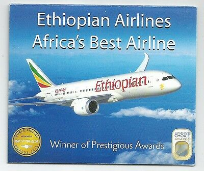 Ethiopia Complete Booklet of 4 Sets MNH 2014 Ethiopian Airlines