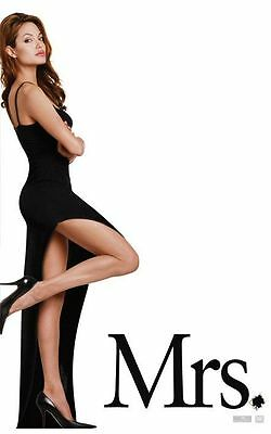 Mr and Mrs Smith - original DS movie poster D/S 27x40 Advance Angelina Jolie