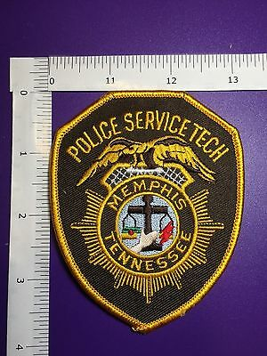 Memphis Tennessee  Police Service Tech Shoulder  Patch