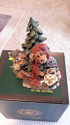 Boyd's Resin Bearstone~LIL RED with B.B. Woof..Going to Grandma's~1E~#2452~SWEET