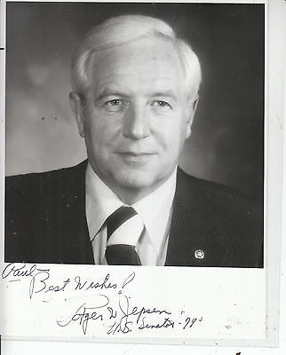 ROGER JEPSEN SIGNED Iowa Senator Photo