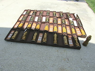 Old Crow 32 Piece Decanter Chess set With Rug Set