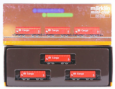 Marklin Z 86352 DB Cargo Car Set, New in Original Box