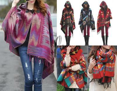 WHOLESALE BULK LOT OF 10 MIXE Style Blanket Poncho Cloak Tops SCARF/SHAWL sc066