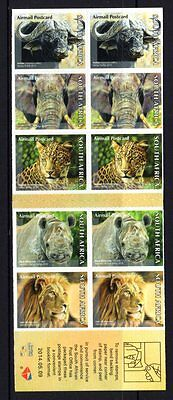 South Africa 2014 The Big Five Booklet of 10 Stamps MNH