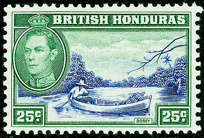 Sg157, 25c blue and green, M MINT.