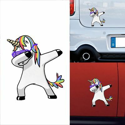 Lovely Unicorn Auto Aufkleber Styling Cartoon Decals Vinyl Wasserdicht Lustig