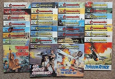 COMMANDO War Picture Library 30 comics full sequence numbers 1968 to 1997 (1986)