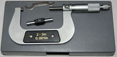 "Imperial Engineers Micrometer 2 - 3 "" X 0.001"" From Chronos"