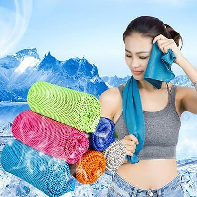 NEW Fitness Dry Cooling Sports Towel For Gym Best Workout Face Iced Sweat Towels