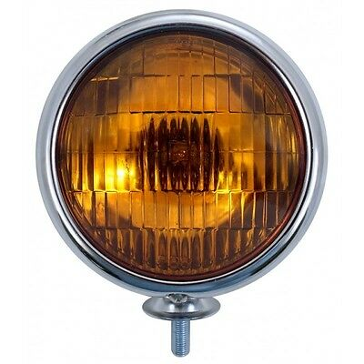 Vintage Style Fog Light orange Nebellampe Nebelscheinwerfer Hot Rot Bomb MOON 32