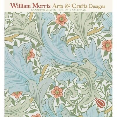 2018 William Morris Arts and Crafts Designs Wall Calendar,  Fine Art by Pomegran