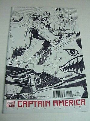 Captain America #25 Steranko Variant Marvel Comics $3 Flat Rate Shipping!
