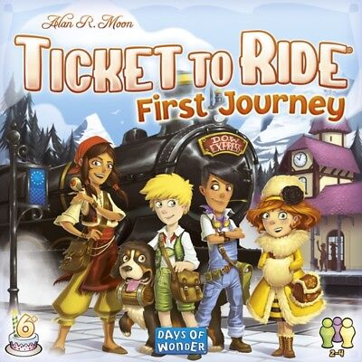 Ticket to Ride First Journey - Europe Edition - Brand New!