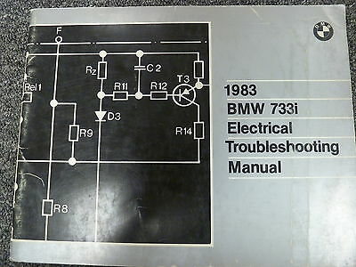 1983 BMW 733I Electrical Troubleshooting Wiring Service Repair ... Hayden Automotive Wiring Diagram on