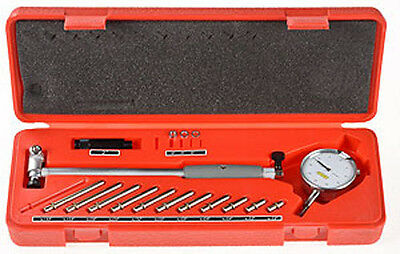 Engine Cylinder Bore Dial Indicator Gauge Kit METRIC 50mm to 160mm Case .01mm
