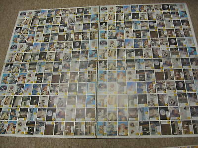 1969 Topps Man On the Moon Uncut Finished Sheet