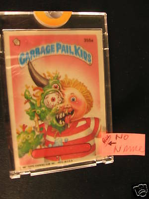 1987 Topps Garbage Pail Kids Series 9 Proof #355A