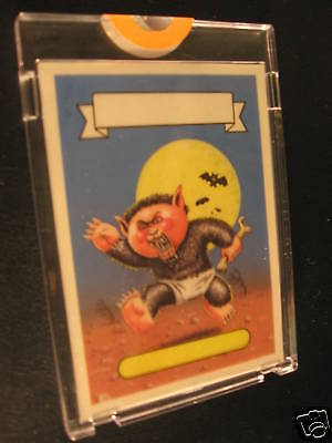 1986 Garbage Pail Kids Berserk Kirk color Proof #116