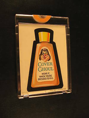 1967 Topps Wacky Packages Die-Cuts Proof Cover Ghoul