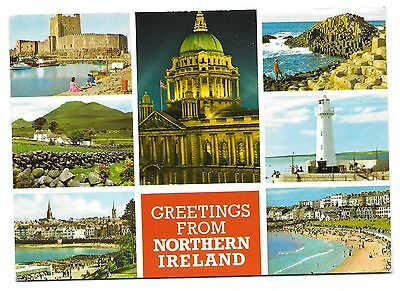 Postcard: Multiview - Greetings from Northern Ireland