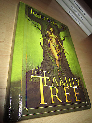 John Everson THE FAMILY TREE 1st/HB MINT Signed/Limited Sinister Grin Press