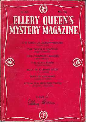ELLERY QUEEN'S MYSTERY MAGAZINE 1957 Pulp Crime Fiction £2.99 POSTFREE UK