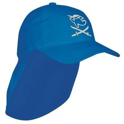 Iq-company Uv 200 Kids Cap and Neck Jolly Fish One Size Blue