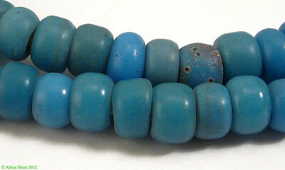 Padre Light Blue Trade Beads Africa SALE WAS $29