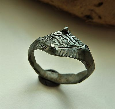 Medieval bronze ring  (426).