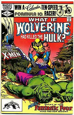 WHAT IF #31 VF/NM, Wolverine Had Killed the HULK? Marvel Comics 1982
