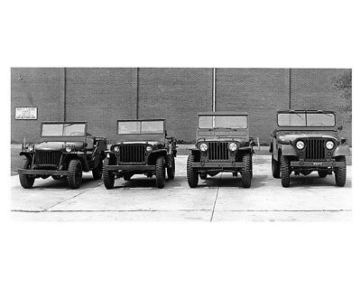 1941 to 1952 Willys Military Jeep MA MB M38 M38A1 Factory Photo ca8636