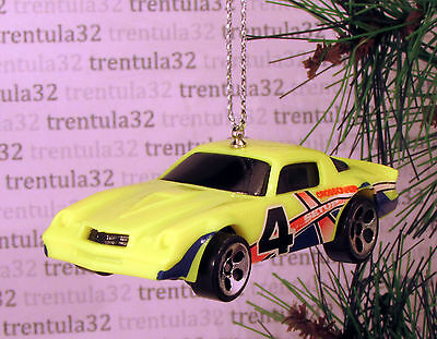 1979 Chevy Camaro Z28 '79 Yellow Red Blue #4 Chevrolet Christmas Ornament Xmas