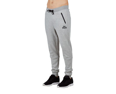 Lonsdale Men's Mowbray Trackpant - Ash Marle