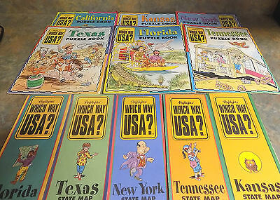 Lot Of 5 Highlights Which Way USA