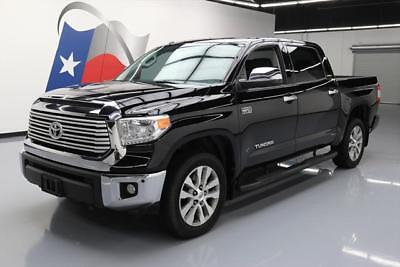 2016 Toyota Tundra  2016 TOYOTA TUNDRA LIMITED CREWMAX LEATHER NAV 20'S 24K #203923 Texas Direct