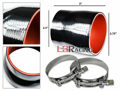 """SILICONE REDUCER COUPLER 2.25/"""" /> 1.75/"""" BLUE 5 PLY HOSE INTERCOOLER TURBO MBS"""