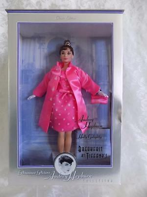 Barbie Audrey Hepburn Breakfast At Tiffany's Nrfb Pink