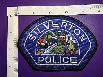 Silverton Oregon  Police Shoulder Patch
