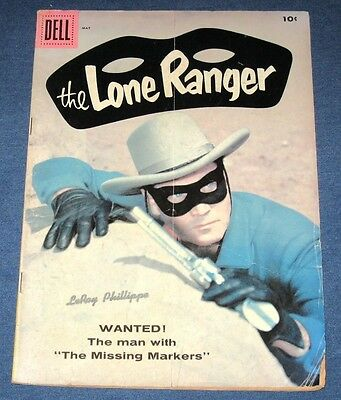 The Lone Ranger #119  May 1958  Clayton Moore Cover
