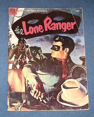 The Lone Ranger #71  May 1954  Blank Inside Covers